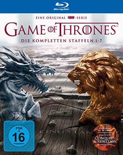 Game of Thrones: Die kompletten Staffeln 1-7 als Digipack (Limited Edition) [Blu-ray]