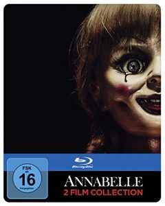 Annabelle 1 + 2 als Steelbook (Limited Edition exklusiv bei Amazon.de) [Blu-ray]
