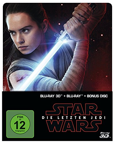 Star Wars: Die letzten Jedi (2D & 3D Steelbook Edition) [3D Blu-ray] [Limited Edition]