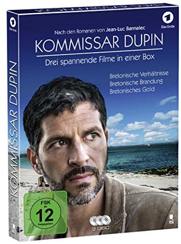 Kommissar Dupin - Box (Bestseller-Verfilmung als 3-Disc-Digipack im hochwertigen Schuber) [3 Blu-rays]