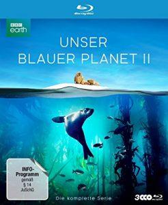 """UNSER BLAUER PLANET II – Die komplette ungeschnittene Serie zur ARD-Reihe """"Der blaue Planet"""" [Blu-ray]"""