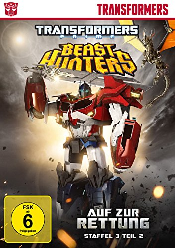 Transformers Prime - Beast Hunters: Auf zur Rettung!, Staffel 3, Teil 2 [2 DVDs]