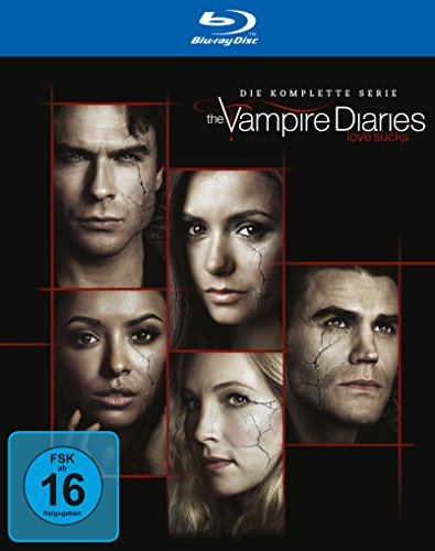 The Vampire Diaries: Die komplette Serie (Staffeln 1-8) [Blu-ray]