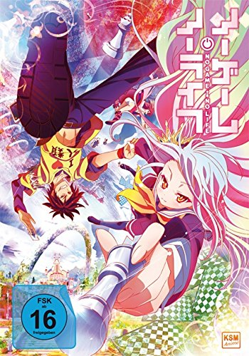No Game No Life - Gesamtediton: Episode 01-12 [Blu-ray]