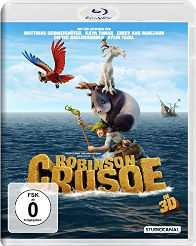 Robinson Crusoe (2D+3D) [3D Blu-ray] [Limited Edition]