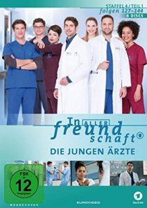In aller Freundschaft – Die jungen Ärzte – Staffel 4.1/Folgen 127-144 [6 DVDs]