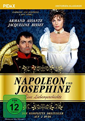 Napoleon und Josephine - Eine Liebesgeschichte / Der komplette Dreiteiler mit Armand Assante & Jacqueline Bisset (Pidax Historien-Klassiker) [2 DVDs]