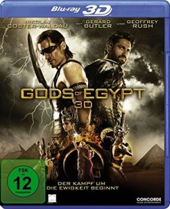 Gods Of Egypt 3D [3D Blu-ray]