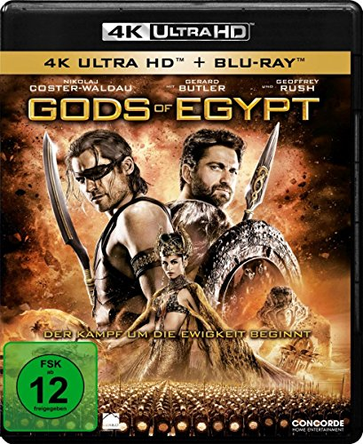 Gods Of Egypt  (4K Ultra HD) (+ Blu-ray)