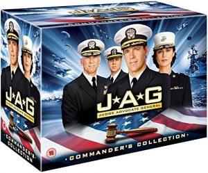 JAG – Im Auftrag der Ehre Komplettbox Staffel 1-10 / Season 1+2+3+4+5+6+7+8+9-10 [in Deutsch und Englisch]