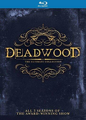 Deadwood Blu-ray Komplettbox Staffel 1+2+3 / Season 1-3 [in Deutsch und Englisch]