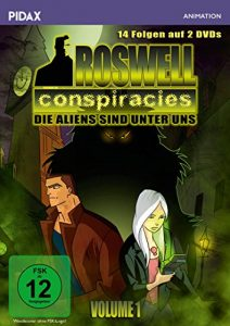 Roswell Conspiracies, Vol. 1/Die ersten 14 Folgen der spannenden Mystery-Science-Fiction-Serie (Pidax Animation) [2 DVDs]