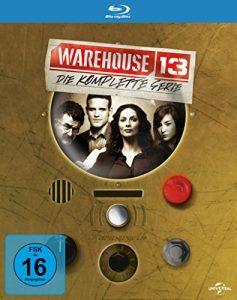 Warehouse 13: Die komplette Serie [15 Blu-rays] [Blu-ray]