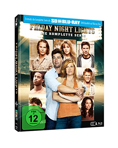 Friday Night Lights - Die komplette Serie - Mediabook (SD on Blu-ray) [Limited Edition]
