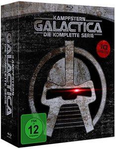 Kampfstern Galactica – Die komplette Serie (+DVD) [9 Blu-rays]
