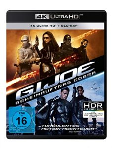 G.I. Joe – Geheimauftrag Cobra (4K Ultra HD) (+ Blu-ray 2D)