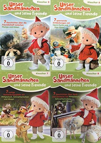 Unser Sandmännchen und seine Freunde - Teil 5 6 7 8 - 28 Abendgruß Klassiker 4 DVD Collection