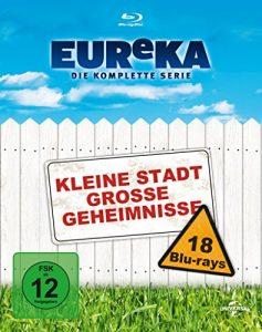 EUReKA: Kleine Stadt grosse Geheimnisse – Die komplette Serie [18 Blu-rays] [Blu-ray]