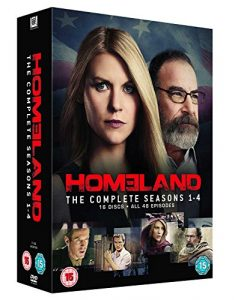 Homeland: Season 1-4 [16 DVDs] (UK Import)