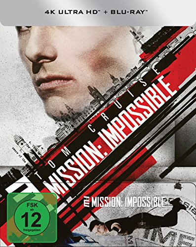 Mission: Impossible - (4K Ultra HD) (+ Blu-ray) limitiertes Steelbook (exklusiv bei Amazon.de)