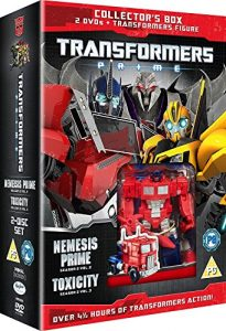Transformers – Prime: Season Two -Collectors Edition-2 DVDs and Toy [UK Import]