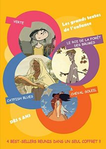 French Children Animation – 4 Best-Sellers ( Verte / Le Roi De La Foret Des Brumes / Catfish Blues / Cheval Soleil ) [ Französische Import ]