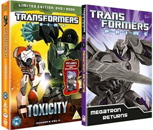 Transformers – Prime: Season Two Volume 3 – Toxicity Limited Edition [DVD] [UK Import]