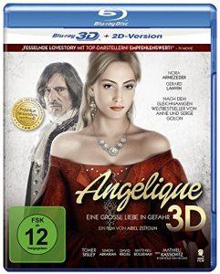 Angélique – Eine große Liebe in Gefahr (Prädikat: Besonders wertvoll) [3D Blu-ray + 2D Version]