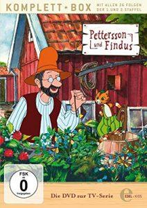 Pettersson und Findus – Staffelbox 1 + 2 – Alle Abenteuer auf DVD