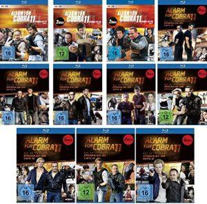 Alarm für Cobra 11 – Staffel 30-40 im Set – Deutsche Originalware [24 Blu-rays]