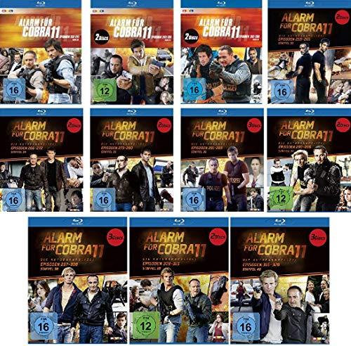 Alarm für Cobra 11 - Staffel 30-40 im Set - Deutsche Originalware [24 Blu-rays]