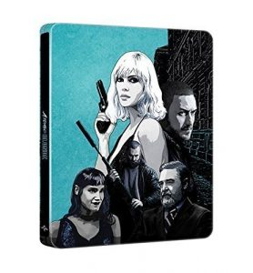 Atomic Blonde Limited Edition Steelbook / Import / Region Free Blu Ray