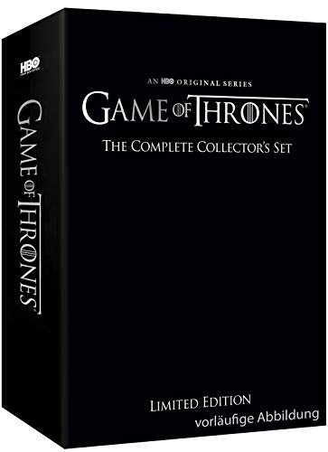 Game of Thrones Limited Collector's Edition - Die komplette Serie (Staffeln 1-8) (Exklusiv bei Amazon.de) [Blu-ray] [Limited Collector's Edition]