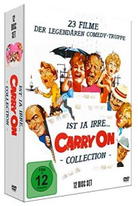 Ist ja irre – Carry On Deluxe Collection (12 DVD-Digipak mit 23 Filmen, limitiert)