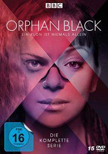 Orphan Black: Ein Klon ist niemals allein – Die komplette Serie (15 Discs)