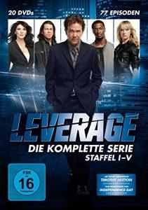 Leverage – Die komplette Serie (20 Discs)