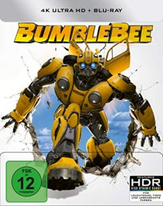 Bumblebee – UHD – Steelbook [Blu-ray]