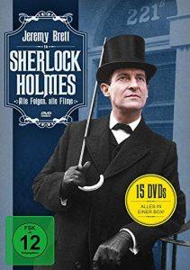 Sherlock Holmes – Alle Folgen, alle Filme (15 DVDs)