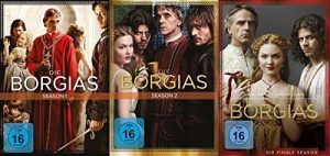 Die Borgias Season 1+2+3 – komplette Serie im Set – Deutsche Originalware [11 DVDs]