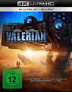 Valerian – Die Stadt der tausend Planeten [4K Ultra HD] [Blu-ray]