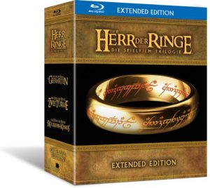 Der Herr der Ringe – Die Spielfilm Trilogie (Extended Edition) [Blu-ray]