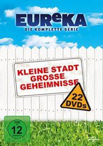 EUReKA – Die geheime Stadt, Die komplette Serie (22 Discs)