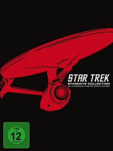 Star Trek - Stardate Collection: Die 10 originalen Filme mit Special Features (Remastered, 12 Discs)