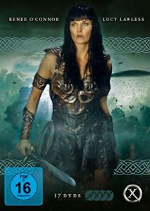 Xena – Warrior Princess [Die komplette Serie mit 37 DVDs, Booklet und Schuber]