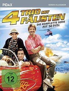 Trio mit 4 Fäusten – Komplettbox / Die komplette Kult-Serie (Pidax Serien-Klassiker) [14 DVDs]