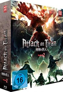 Attack on Titan – 2. Staffel – BR 1 mit Sammelschuber (Limited Edition) [Blu-ray]
