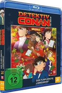 Detektiv Conan – 21. Film: Der purpurrote Liebesbrief [Blu-ray]