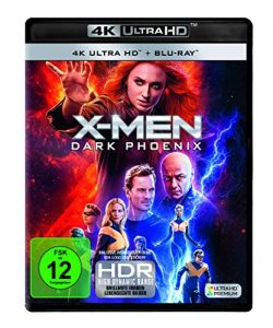 X-Men: Dark Phoenix (4K Ultra HD + 2D Blu-ray) [Blu-ray]