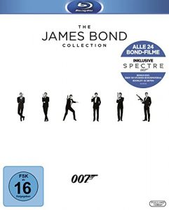 James Bond – Collection 2016 [Blu-ray]