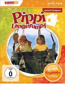 Astrid Lindgren: Pippi Langstrumpf – Spielfilm-Komplettbox [4 DVDs]